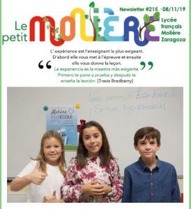 newsletter-215-lycee-moliere-zaragoza