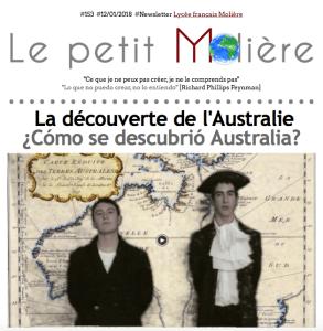 El liceo francés Molière descubre Australia