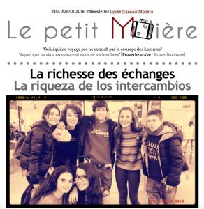 Intercambios escolares en el Liceo francés Molière