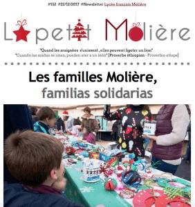 Solidaridad en el Liceo francés Molière