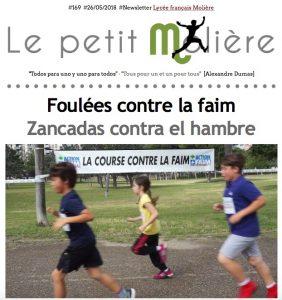 newsletter 170 Molière Zaragoza