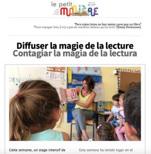 newsletter 177 colegio Molière Zaragoza