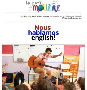 newsletter 176 colegio Lycée français Molière